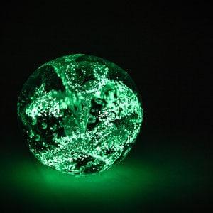 Impressionen Kristallbestattung Kristall Asche seltene Erden grün